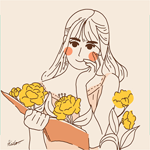 I will Drawing  Cute Minimalist Illustration from your Photos