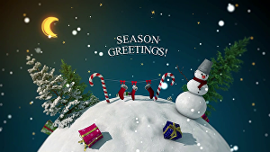 I will create this beautiful Christmas and New year  video