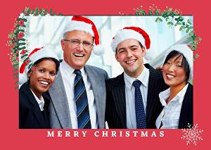 I will design Christmas card, invitation card, or new year card