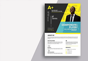 I will design professional and outstanding high quality flyers or posters