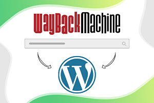 I will recover the website from WayBack machine to WordPress