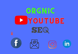 I will do wonderful You tube SEO to improve ranking organically
