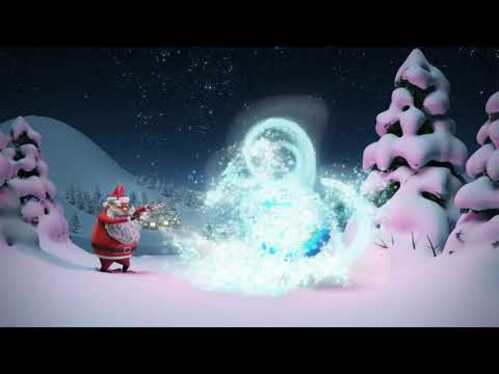 cccccc-create beautiful Christmas intro video