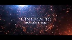 I will make a cinematic trailer video
