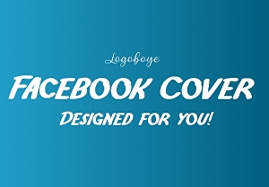 I will Design a unique Facebook Cover for you or your business