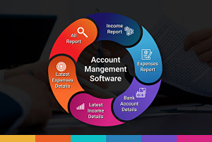 I will create account management software