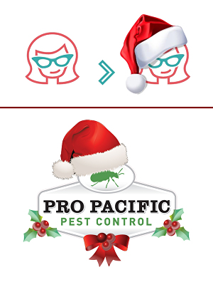 I will do a Christmas makeover of your logo
