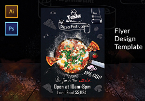 I will Design Creative flyer, Modern Restaurant &  Corporate flyer design,any flyer desig