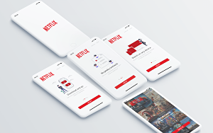 I will design modern mobile and web UI UX designs
