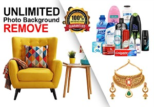 I will do unlimited photo background remove