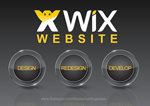 I will design Wix or redesign a Wix website design or Wix online store