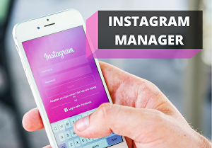 I will be your instagram account manager for 1 month