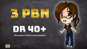 I will build 3 PBN Permanent Dofollow homepage Backlinks DR 40+