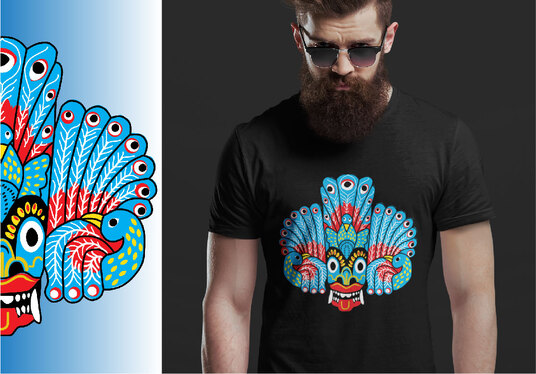 create an outstanding  tshirt design for you