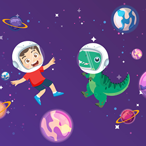 I will create colorful childrens book illustrations