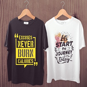 I will create unique custom or typography t shirt design for you