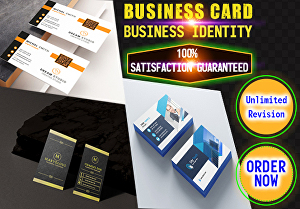 I will Design Attractive  Luxury Double Sided Business Card