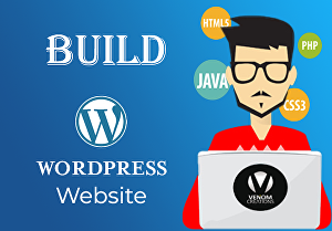I will Build Modern Responsive WordPress website
