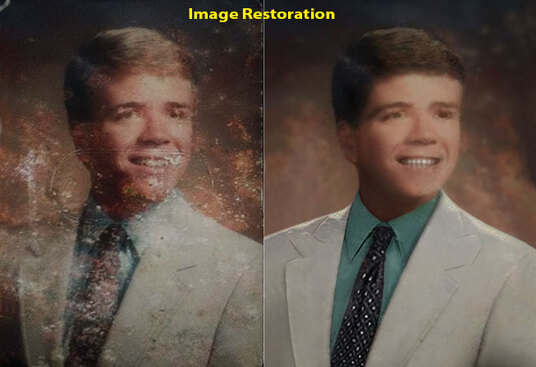 do professionally photo restoration, repair, fix and restore from old damaged photo