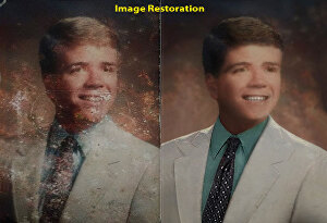I will do professionally photo restoration, repair, fix and restore from old damaged photo