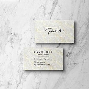 I will design professional, luxury business card and stationery