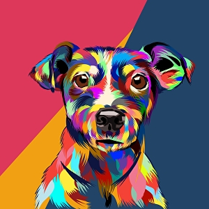 I will Draw your pet in to pop art in 24 hours