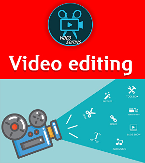 I will do video editing