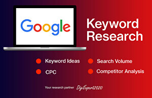 I will do best SEO keyword research for website ranking