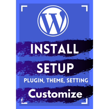 do WordPress Installation, setup, customization  with contact, privacy policy, disclaimer page