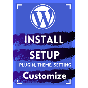 I will do WordPress Installation, setup, customization  with contact, privacy policy, disclaimer