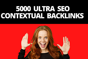 I will build  ultra SEO contextual backlinks