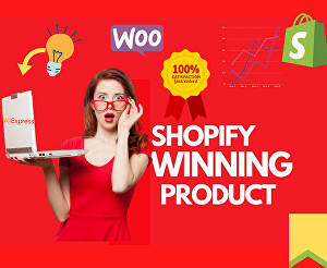 I will do winning product research for shopify dropshipping store