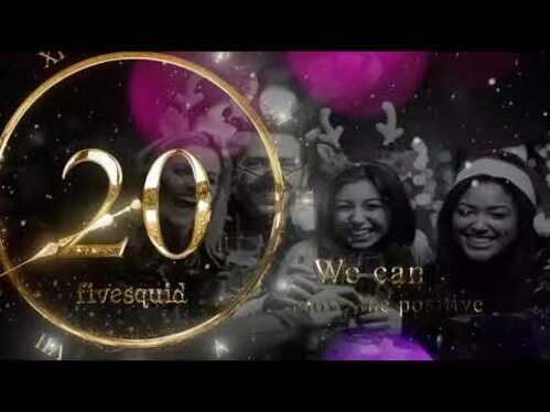 make amazing New Year 2021 countdown video