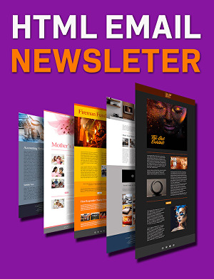 I will create responsive html email newsletter professionally