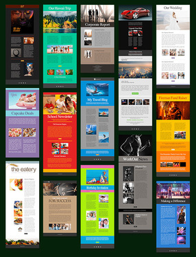 create responsive html email newsletter professionally