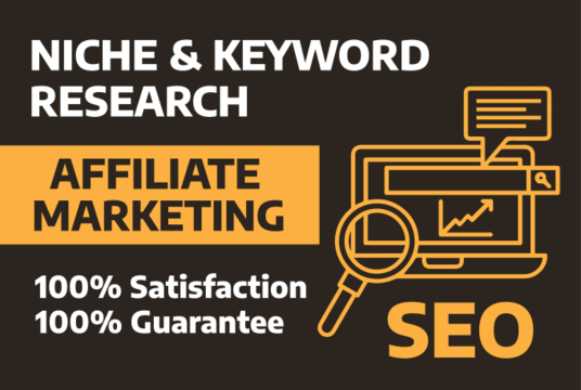 do niche and keyword research for affiliate marketing