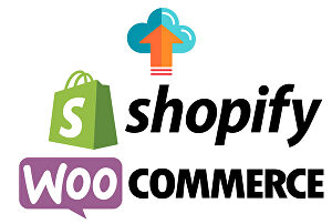 I will upload your desired product in woo-commerce and Shopify store