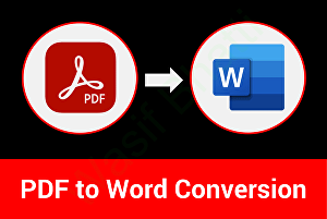 I will convert scanned PDF, up to 20 pages, to Microsoft Word and Microsoft excel