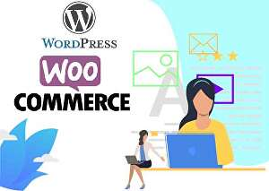 I will design or clone a landing page WordPress website including Woocommerce for your business &