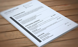 I will design an eye-catching Resume or CV for you