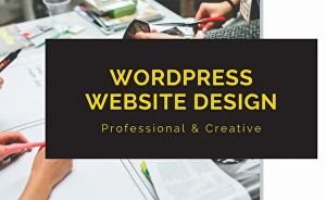 I will create or redesign a responsive wordpress website  or blog