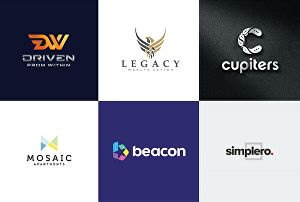 I will create flat and minimalist logo design within 24 hours