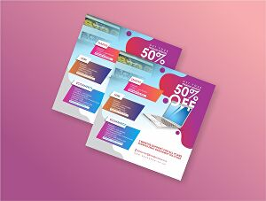 I will design professional flyer for you