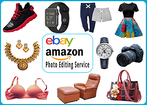 I will Do 20 Amazon,  Ebay, Product Photo retouching, Photo Editing, Background Removal