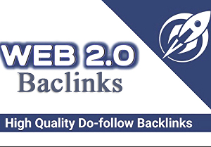 I will do 50 web 2.0 Seo Backlinks by White Hat Manual Link Building Service