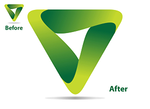 I will Convert jpg logo to vector