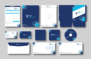 I will design awesome branding stationary for your business
