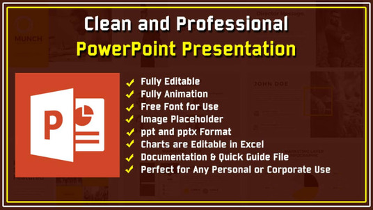 prepare or improve professional PowerPoint presentations and slides