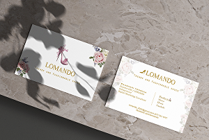 I will do creative luxury business card design for your business