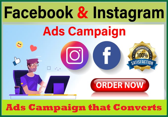 Create and manage Facebook And Instagram ads Campaign